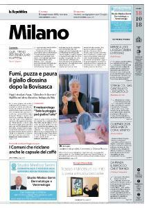 la Repubblica Milano - 18 Ottobre 2018