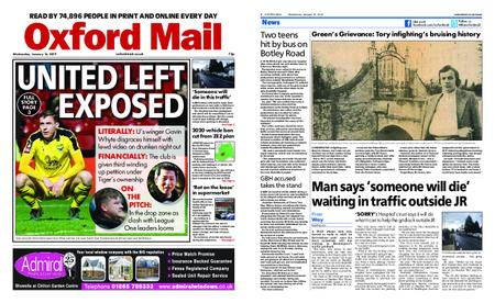 Oxford Mail – January 16, 2019