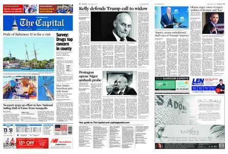The Capital – October 20, 2017