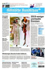 Kölnische Rundschau Wipperfürth/Lindlar – 20. November 2019