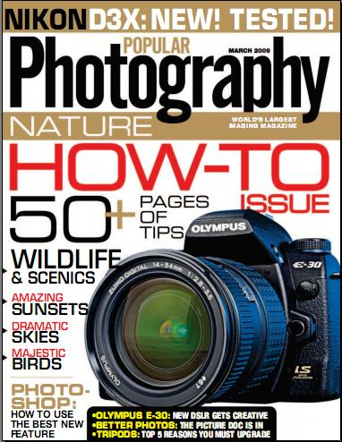 Popular Photography Magazine - March 2009
