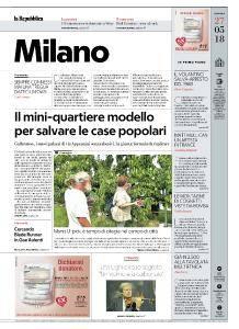 la Repubblica Milano - 27 Maggio 2018