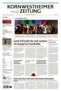 Kornwestheimer Zeitung - 24. Dezember 2018