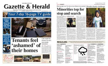 Gazette & Herald – February 11, 2021