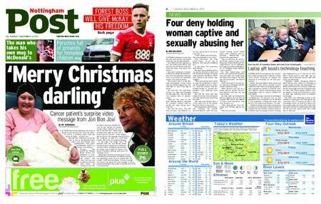 Nottingham Post – December 12, 2017