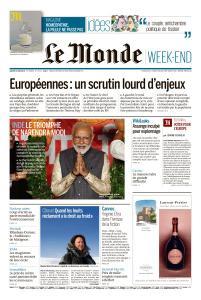 Le Monde du Samedi 25 Mai 2019