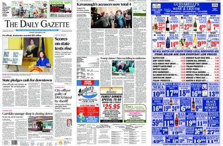 The Daily Gazette – September 27, 2018
