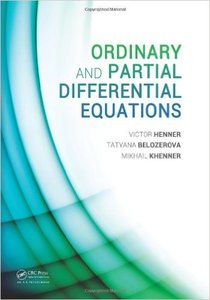 Ordinary and Partial Differential Equations (Repost)