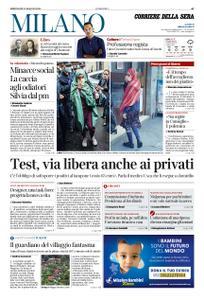 Corriere della Sera Milano – 13 maggio 2020