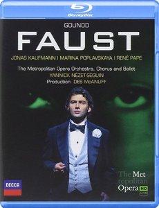 Yannick Nezet-Seguin, The Metropolitan Opera Orchestra, Jonas Kaufmann, Rene Pape - Gounod: Faust (2014) [Blu-Ray]