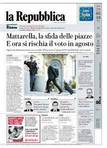 la Repubblica - 29 Maggio 2018