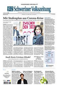 Schweriner Volkszeitung Hagenower Kreisblatt - 24. April 2020