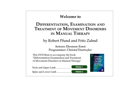 """Robert Pfund """"Differentiation, Examination and Treatment of Movement Disorders in Manual Therapy"""" (BOOK + DVD) [repost]"""