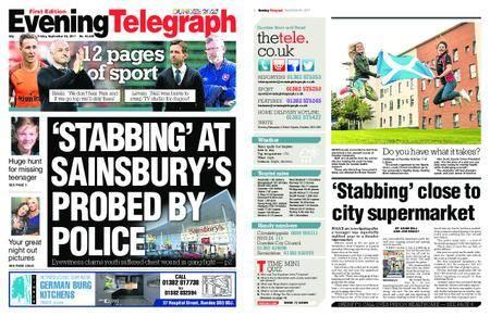 Evening Telegraph First Edition – September 29, 2017
