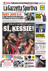 La Gazzetta dello Sport Roma – 14 aprile 2019