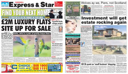 Express and Star Sandwell Edition – December 05, 2018