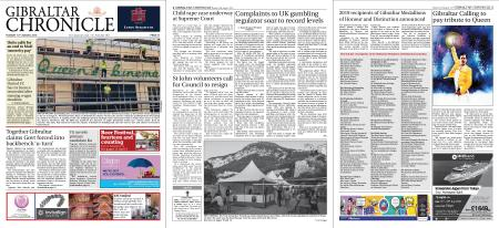 Gibraltar Chronicle – 13 August 2019