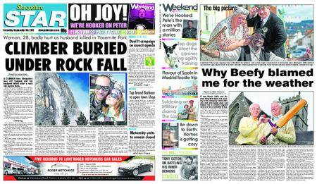 Shropshire Star Shrewsbury Edition – September 30, 2017