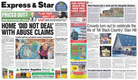Express and Star Sandwell Edition – February 14, 2020