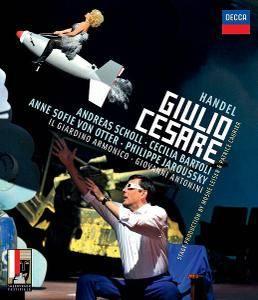 Giovanni Antonini, Il Giardino Armonico - Handel: Giulio Cesare (2016) [Blu-Ray]