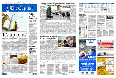 The Capital – April 15, 2019