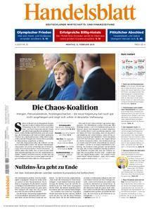 Handelsblatt - 12. Februar 2018