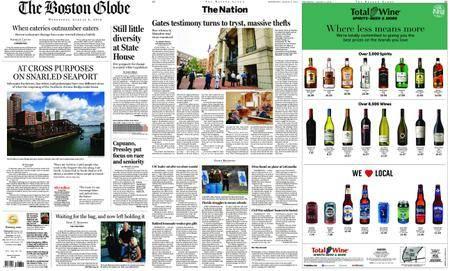 The Boston Globe – August 08, 2018