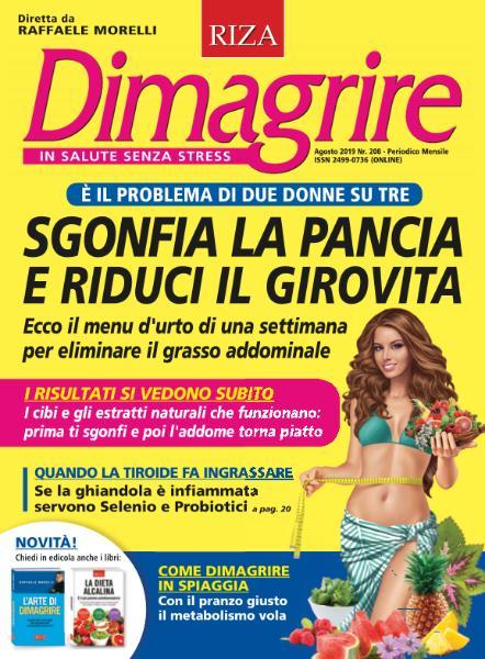 Dimagrire - Agosto 2019