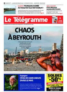 Le Télégramme Brest Abers Iroise – 05 août 2020