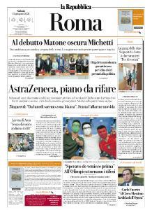 la Repubblica Roma - 12 Giugno 2021