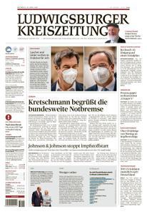 Ludwigsburger Kreiszeitung LKZ - 14 April 2021