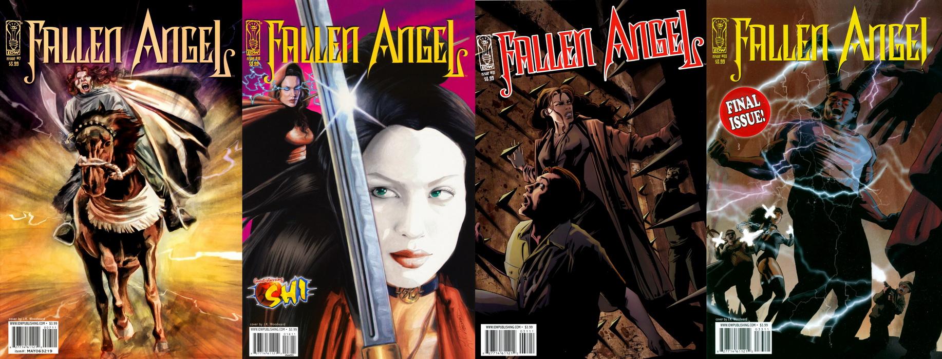 Fallen Angel Vol2 ( 1 - 33 ) Complete