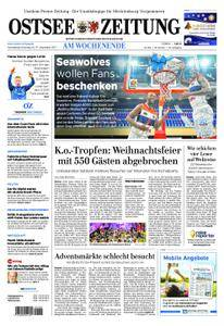 Ostsee Zeitung Wolgast - 16. Dezember 2017