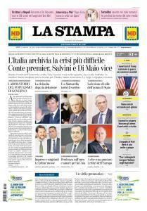 La Stampa Torino Provincia e Canavese - 1 Giugno 2018