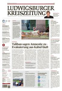 Ludwigsburger Kreiszeitung LKZ - 18 August 2021