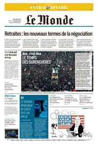Le Monde du Mardi 7 Janvier 2020