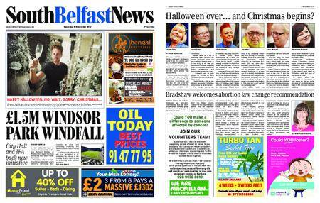 South Belfast News – November 08, 2017