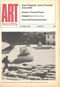 Art Monthly - November 1982   No 61