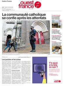 Ouest-France Édition France – 14 novembre 2020