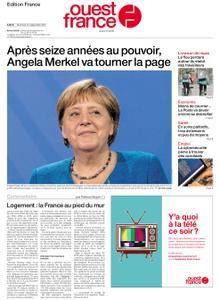 Ouest-France Édition France – 22 septembre 2021