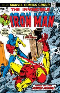 Iron Man 063 1973 Digital Shadowcat