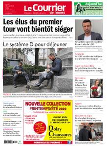 Le Courrier de l'Ouest Angers – 18 mai 2020