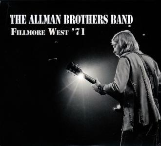 The Allman Brothers Band - Filmore West '71 (2019) {4CD Box Set}