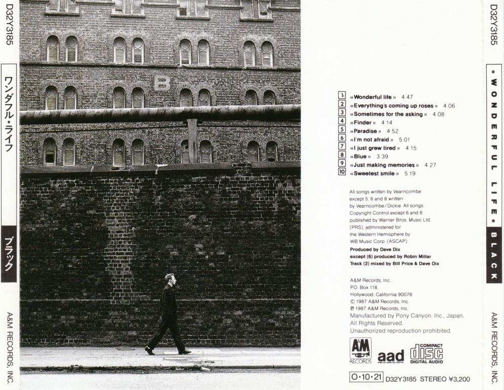 Black - Wonderful Life (1987) [Japanese Edition]