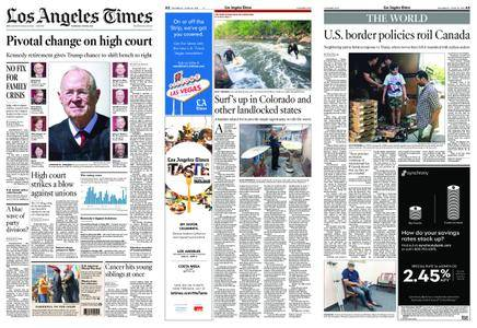 Los Angeles Times – June 28, 2018