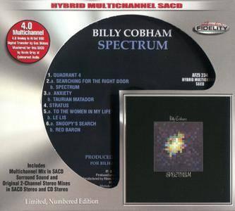 Billy Cobham - Spectrum (1973) [Audio Fidelity 2016] PS3 ISO + Hi-Res FLAC