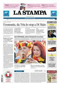 La Stampa Torino Provincia e Canavese - 28 Giugno 2018