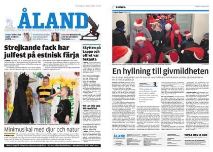 Ålandstidningen – 27 november 2019