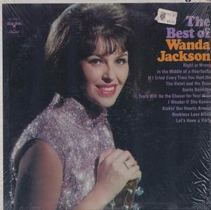 Wanda Jackson - The Best Of Wanda Jackson (1968) [Vinyl Rip 16/44 & mp3-320 + DVD]