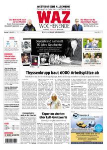 WAZ Westdeutsche Allgemeine Zeitung Oberhausen-Sterkrade - 11. Mai 2019